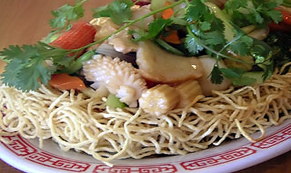 Stir-Fried Noodle with seafood